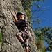 Escalade à Berettli, Arnaud (5 ans)