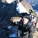 Frostige Verhältnisse auf dem Gipfel