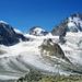 Kleine Bergsteiger (unten) und hohe Berge