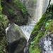 zum Schluss noch ein kleiner Wasserfall