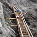 Auf dem Leiternweg am Oberen Grindelwaldgletscher