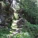 Abstieg nach Frasco