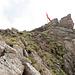 Kurz vor dem Gipfel wird das Gelände wieder einfach