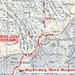 Weg vom Hochmättli Richtung Oberer Murgsee. Alternativ kann man auch vom Pass aus nördlich Hochmättli entlang Höhenlinie 2120m Richtung Walenchenel laufen und dort in den Canyon hinabsteigen (gut sichtbarer Pfad).