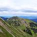 Über der Südflanke des Rindalphorn ein paar Berge der Nagelfluh-Kette Richtung Osten.