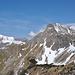 Blick zum Großen Daumen und Nebelhorn.