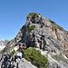 Abstiegsgelände am Geißalphorn