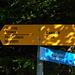 Hinweisschild am Gigerwald