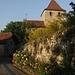 """Dorfeingang bei """"Chez Cottet"""" - Le Village Rue"""