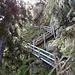 Rückblick zur Treppe vom Sattel
