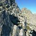 Aufstieg zum Rosso di Ribia, 2547m - NW Flanke mit leichter Kletterei (II) zum Gipfel