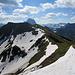 Abstieg von der Üntschenspitze zum Häfnerjoch