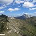 Der weitere Gratverlauf zum Starzeljoch und Grünhorn
