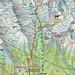 Meine rot eingezeichnete Route auf die beiden Rysy-Gipfel von Štrbské Pleso über die einzig erlaubte Aufstiegsroute (Schwierigkeit T3).<br /><br />Der 2498,7m hohe Nordwestgipfel (poln.: Wierzchołek północno-zachodni) ist der höchste Punkt Polens während der 2503,0m hohe Hauptgipfel ganz in der Slowakei liegt.