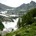 Der obere Talkessel des Val Nedro - Basal links, Cima di Nedro rechts