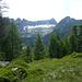 Motti di Marcri - Blick zurück ins Val Nedro mit Cima di Nedro, Cramosino und Cima di Partüs