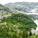 Val Nedro - im Einschnitt links oben liegt der Passo del Rampi, Cima d'Efra lugt knapp hervor