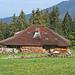 Alphütte oberhalb von Les Joncs