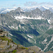 Pizzo Mezzodi - Panorama gegen Nordwesten ins Val Vegorness