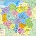 Polen mit eingezeichneter Lage des Landeshöhepunktes der ganz im Südosten auf der Grenze zur Slowakei liegt. Der 2498,7m hohe Nordwestgipfel (poln.: Wierzchołek północno-zachodni) ist der höchste Punkt Polens während der 2503,0m hohe Hauptgipfel ganz in der Slowakei steht.