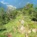 Sentiero di cresta Luarn - Sasso della Guardia