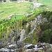 Abstieg auf dem nord-west Grat