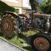 Da kann ein alter Mechaniker halt nicht vorbeigehen.<br />Grunder-Traktor mit 500 ccm Sachs-Dieselmotor.<br />(Schade ist dieser nicht näher bei mir zuhause)