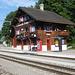 die hübsche Bahnstation von Peist