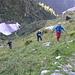 Passiamo accanto all'Alpe Mud