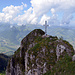 Gipfel Dent de Broc - eher schmal