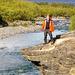 Spaziergang zur Mündung des Abiskojåkka (jåkka: samisches Wort für Fluss)