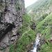 sentiero nelle gole del Ri della Valle di Prato