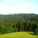 Inzwischen ist es Richtig schön geworden - Blick von Hinteregg zum Hirschberg.