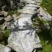 Sensationeller Plattenweg von Piei Bachei zur Alpe d'Arena
