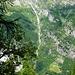 Val Quaranteria vom Abstieg zur Cap. Alpe Arena her