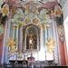 Chiesa parrocchiale di Boccioleto: cappella di San Giuseppe. La statua del 1693 è opera di Francesco Antonio d'Alberto.<br />La decorazione pittorica dell'altare cosiccome i medaglioni in cui sono raffigurate scene della vita di San Giuseppe opera dell'Orgiazzi .