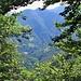 Dai pressi dell'Alpe Sasso si vedono Boccioleto, da cui siamo partiti, e Ronchi.