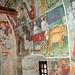 Interno dell'oratorio di san Pantaleone del 1417, è interamente affrescato, le scene narrano episodi della vita della beata Panacea.