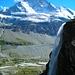 Wasserfall und Matterhorn