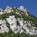 San Marino - Blick entlang der steilen, östlichen Felsflanken (aka La prima torre/Erster Turm bzw. Rocca).