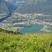 der kleine Lago di Piano, direkt unterhalb