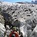 Am Anfang des Gletschers