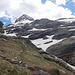 nochmals der Rückblick - rechts unter dem Schnee der Ri di Larecc