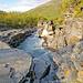Am ersten Wandertag geht es dem Abiskojåkka entlang hinauf zum Abiskojavri (javri: samisches Wort für See)