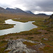 Blick von den Alesjaurehütten talaufwärts
