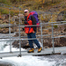 Nach Kaitumjaure führt eine Brücke über den Kaitumjåkka