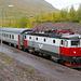 Mit dem Zug der SJ geht es hinunter nach Narvik