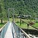 die Hängebrücke von Alnasca