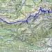 Routenverlauf von Stansstad nach Gfelle<br /><br />Quelle: Swiss Map online
