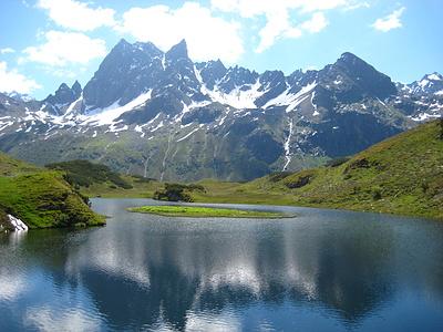 2. Tag: Spiegelung im Langsee